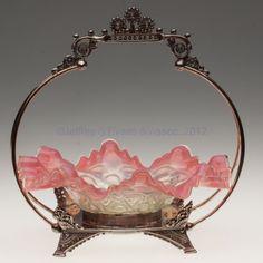 Brides Baskets | 1348: VICTORIAN BRIDE'S BASKET : Lot 1348