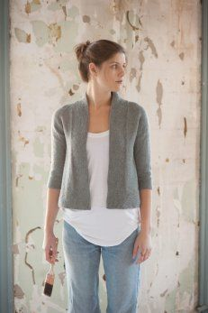 Gorgeous cardi from Quince & Co.