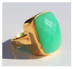 Perfect spring cocktail ring