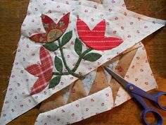 """Supergoof Quilts: """"SWEET WILLIAM Holiday Post"""""""