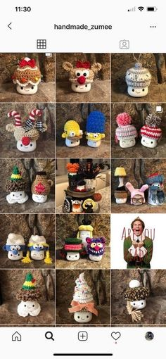Crochet Crafts, Yarn Crafts, Diy And Crafts, Yarn Projects, Crochet Projects, Dole Whip Disney, Marshmallow Crafts, Cute Marshmallows, Dollar Tree Crafts