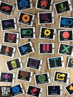 Teach these 28 iPad app icons to build students' technology fluency and increase their comfort, efficiency and expertise with using ANY iPad app in the classroom!