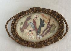 $16 + $10 ship for sale 2020 Botanical Art Oval Frame | Etsy Oval Frame, Frame It, Vintage Art Prints, Dry Leaf, Vintage Crafts, Botanical Art, Stars And Moon, A Table, Vines