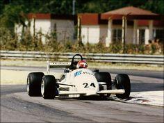 Mike Thackwell, International Formula 3000, Enna-Pergusa 1986 - Photo: Jutta Fausel