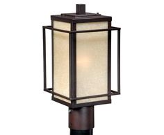 View the Vaxcel Lighting RB-OPU070 Robie 1 Light Outdoor Post Light at LightingDirect.com.