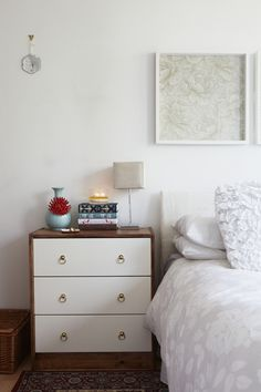 amazing ikea hack by @Helena del Rio - A Diary of Lovely photographed by Sarah Hogan for The Everygirl