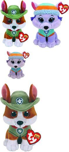 Beanie Babies 2 0 165958  Ty Beanie Baby Boo 6 Paw Patrol Everest Husky And 7b9160e79038
