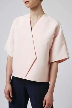 Ridge Kimono Wrap Top By Boutique - Tops - Clothing - Topshop. Fashion Mode, Minimal Fashion, Fashion Outfits, Womens Fashion, Minimal Style, Classic Fashion, 50 Fashion, Fashion Styles, Topshop Boutique