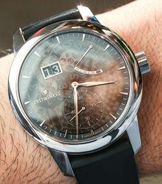 Zeitwinkel 273° Saphir Fumé Watch Hands-On | aBlogtoWatch