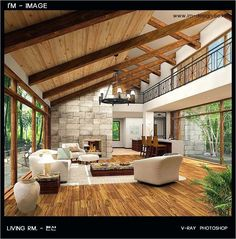 42 Stunning Natural Living Room Decorating Ideas 24 Impressive Natural Fiber Rugs Decorating Ideas for Living Room Nurani 5 14 Ways to Decorate Your House Living Room Designs, Living Room Decor, Dining Room, Modern House Design, Wood House Design, Natural Living, Great Rooms, Home Interior Design, Future House