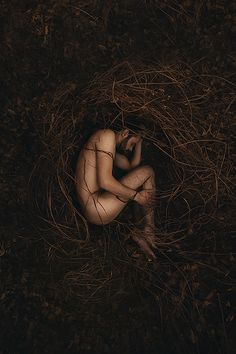 Bonded By Mother Nature by Eva van Oosten #photography #portrait #nest