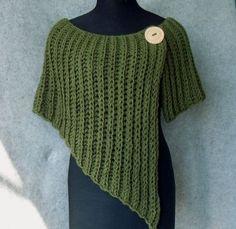 Χειροτεχνήματα: 10 σχέδια για πλεκτά πόντσο / 10 patterns for knitted ponchos
