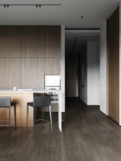 kitchen Kitchen Cabinet Design, Kitchen Cabinets, Cocinas Kitchen, Melbourne House, Conference Room, Divider, Table, Furniture, Home Decor