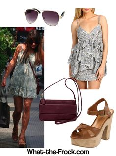 What the Frock? - Affordable Fashion Tips, Celebrity Looks for Less: Lea Michele