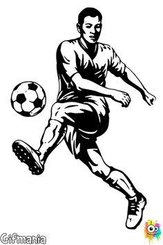 nia futbolista futbol chica dibujo  Dibujos  Pinterest