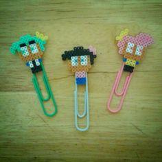 Cosmo & Wanda The Fairly OddParents bookmarks hama mini beads by frikithings