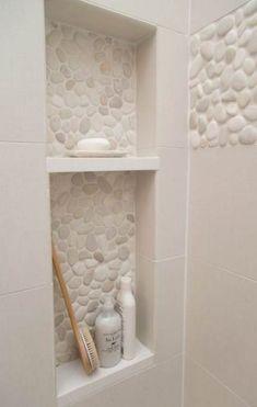 Bath room tiles shower wall 33 ideas for 2019 Bathroom Renos, Bathroom Flooring, Master Bathroom, Bathroom Ideas, Bathroom Remodeling, Shower Ideas, Master Shower, Bathroom Showers, Bathroom Spa