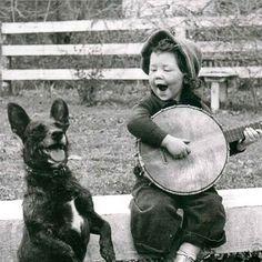 Dog, Kid & Banjo