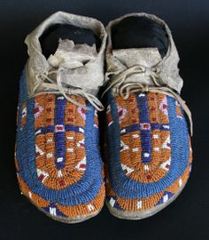 Morning Star Gallery - Sioux Moccasins