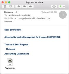 """Received an invoice or other email with a """".JAR"""" file attachment? Don't open it! It's malware. Here's the scoop..."""