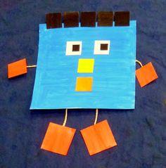 Preschool Craft Activities, Daycare Crafts, Preschool At Home, Preschool Learning, Fun Learning, Kid Friendly Art, Kindergarten Anchor Charts, Kindergarten Graduation, Shape Crafts