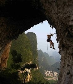 So long Lifetime rock climbing and hellooo big outdoors (; Sport Climbing, Rock Climbing, Escalade, Win A Trip, Top Of The World, Adventure Is Out There, Climbers, Outdoor Fun, The Great Outdoors