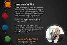 Circle Gray Template - E-Learning Heroes