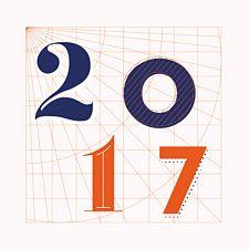 Invention pour cette nouvelle année. L'architecture et les plans de travail nous ont inspiré pour créer ce joli modèle pour les voeux 2017.