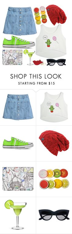 """""""Helena"""" by goingdigi ❤ liked on Polyvore featuring H&M, Converse, Emilio Pucci and Diane Von Furstenberg"""