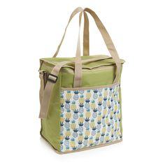 Wilko Family Cooler Bag Pineapple