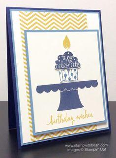 Build a Birthday,Cupcake Party,Stampin' Up!, Brian King,FabFri65