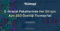 #Ticimax #Eticaret altyapısındaki her dile göre farklı SEO özelliği ile arama motoru optimizasyonunuzu farklı dillere göre yapabilirsiniz. www.ticimax.com  #eticaret #sanalmağaza #eticaretsitesi #onlinesatış #ecommerce #mobilticaret #satışsitesi #ticimax
