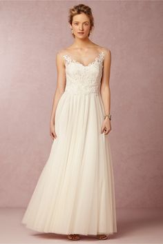 Lucca Maxi in Bride Wedding Dresses at BHLDN