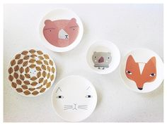 Friends with friends! @pineneedles_acorns x Our ceramics can be found here: http://www.donnawilson.com/products/for-home/ceramic-tableware