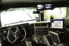 H1 Hummer Interior