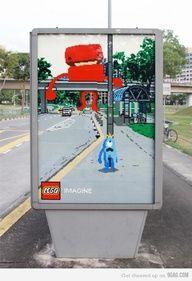 #lego #streetmarketing