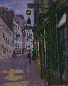 The rue Notre-Dame des Champs, Paris: The Entrance to Sargent's Studio by Walter Sickert