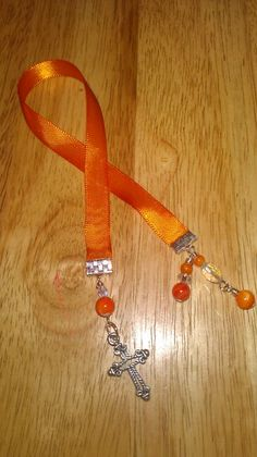 Ribbon bookmark, handmade by me =)