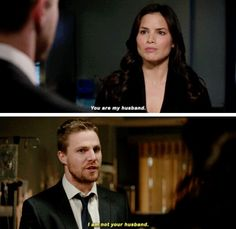 #Arrow - Oliver & Nyssa #Season4 #4x13