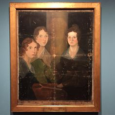 Amazing to see this portrait at the Morgan. It's on loan from the National Portrait gallery in London. #charlottebronte #exhibition #brontesisters #portrait