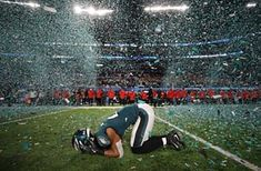 Minneapolis, US. Philadelphia Eagles' Patrick Robinson celebrates after beating the New England Patriots at Super Bowl LII. It was the first time in 57 years that the Eagles were crowned NFL champions