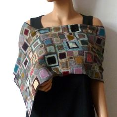 Scarf creation Sophie Digard