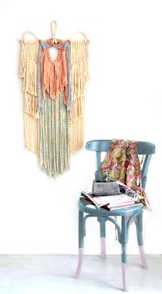 Macrame Calm wall hanging by RanranDesign on Etsy
