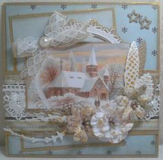 Christmas Card - Essential products for this project can be found on Crafting.co.uk - for all your crafting needs.
