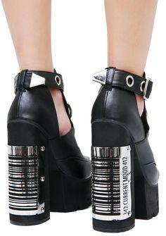 new style ee9af cbeb3 14 bästa bilderna på Metal Shoes.   Boots, Crazy shoes och Goth shoes
