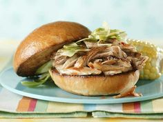 Recipe: North Carolina-Style Pulled Pork Sandwiches