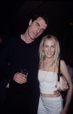 Chris Noth and Sarah Jessica Parker, 1999