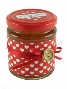 We love Jar Wraps - Red Hearts - find them in our online shop under Rosie's Pantry: Jar Wraps, Heart Wraps Love Jar, Jam Jar, Red Hearts, Pantry, Jars, Have Fun, Artisan, Shop, Stuff To Buy