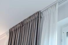 Super Diy Home Decor Bedroom Curtains 69 Ideas Diy Home Decor Bedroom, Small Room Bedroom, Home Living Room, Interior Design Living Room, Living Room Decor, Curtain Inspiration, Curtains Living, Ceiling Curtains, Diy Curtains