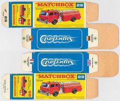#MB29A #29 #FIRE PUMPER TRUCK #F-BOX #SUPERFAST #1970